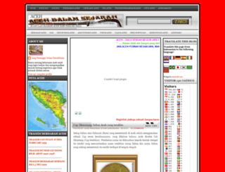 acehdalamsejarah.blogspot.com screenshot