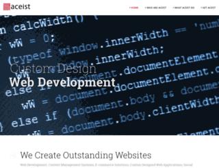 aceist.com screenshot