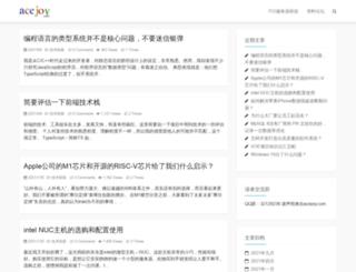 acejoy.com screenshot