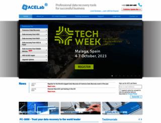 acelaboratory.com screenshot