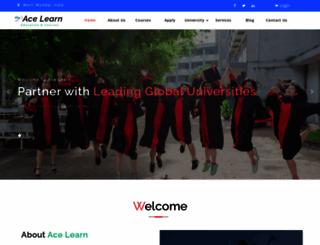acelearn.org screenshot