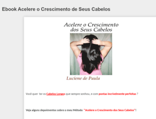 acelereocrescimentodeseuscabelos.blogspot.com.br screenshot