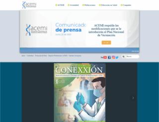 acemi.org.co screenshot