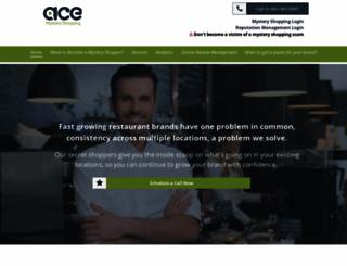 acemysteryshopping.com screenshot