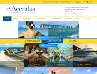 acendasdev.makedigitalgroup.com screenshot