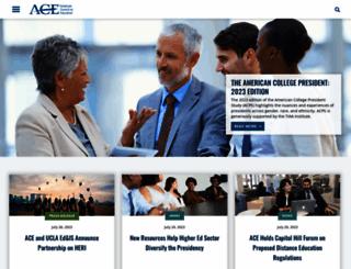 acenet.edu screenshot