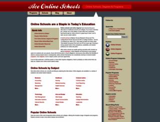 aceonlineschools.com screenshot