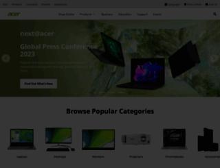 acer-euro.com screenshot