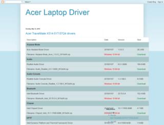 acer-laptop-driver.blogspot.com screenshot