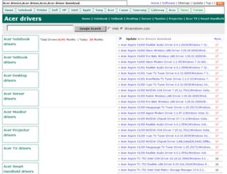 acer.driversdown.com screenshot