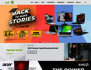 acerid.com screenshot