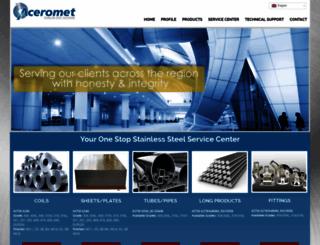 aceromet.com screenshot