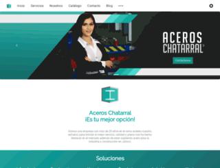 aceroschatarral.com screenshot