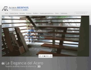 acerosredinox.com screenshot