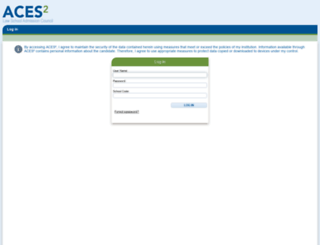 aces2.lsac.org screenshot