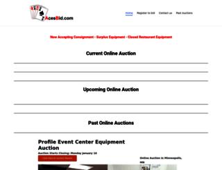 acesbid.com screenshot