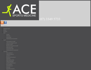 acesportsmedicine.com.au screenshot