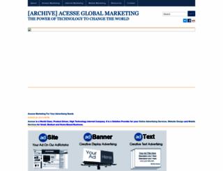 acesseglobalmarketing.wordpress.com screenshot