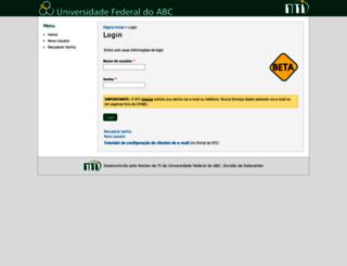 acesso.ufabc.edu.br screenshot