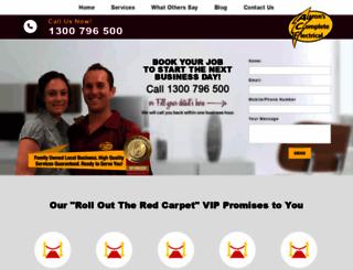 acesydneyelectricians.com.au screenshot