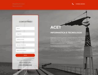acet.it screenshot