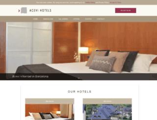 acevihotels.com screenshot