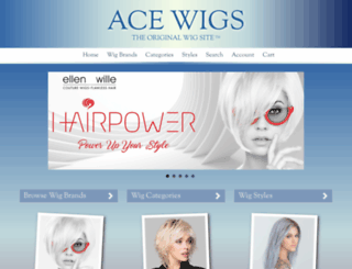 acewigs.com screenshot