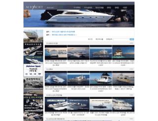 aceyacht.com screenshot