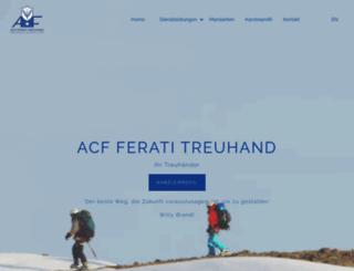 acf-ferati.ch screenshot
