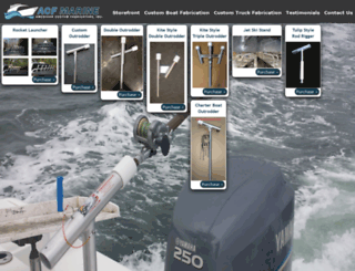 acfmarine.com screenshot