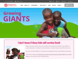 acfs.org.za screenshot