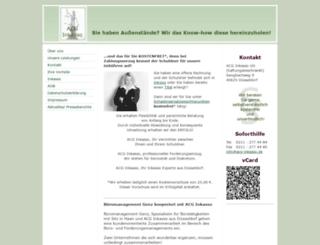 acg-inkasso.de screenshot