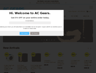 acgears.flyelephant.com.tw screenshot