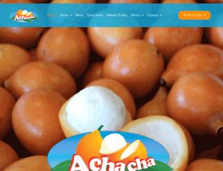 achacha.com.au screenshot