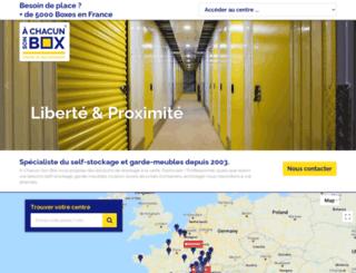 achacunsonbox.com screenshot