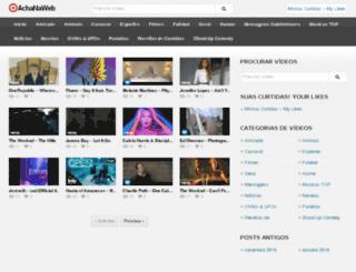 achanaweb.com.br screenshot
