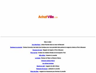 achat-meurthe-et-moselle.com screenshot