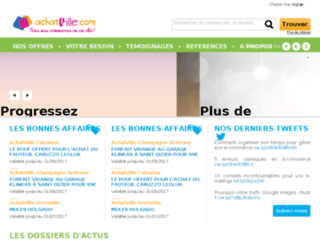 achat-nantes.com screenshot