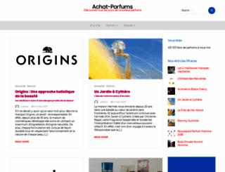 achat-parfums.fr screenshot