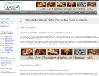achat.webguideauto.com screenshot