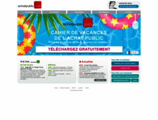 achatpublic.com screenshot