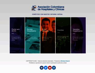 achc.org.co screenshot