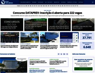 acheconcursos.com.br screenshot