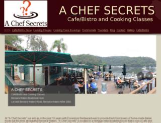 achefsecrets.com.au screenshot