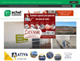 acheibrumado.com.br screenshot