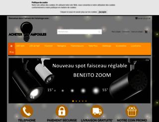 acheter-ampoules.fr screenshot