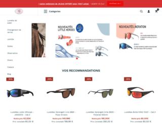 acheter-lunettes.com screenshot