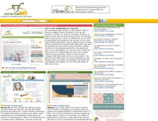 acheterbio.com screenshot
