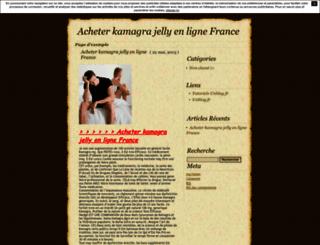 acheterkamagrajellyenlignefrance.unblog.fr screenshot