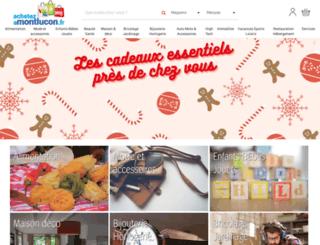 achetezamontlucon.fr screenshot